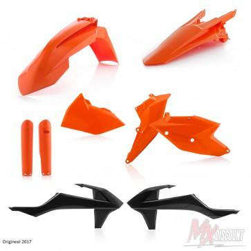 Acerbis Plastic Kit EXC125-150 EXCF 250 350 450 17-18