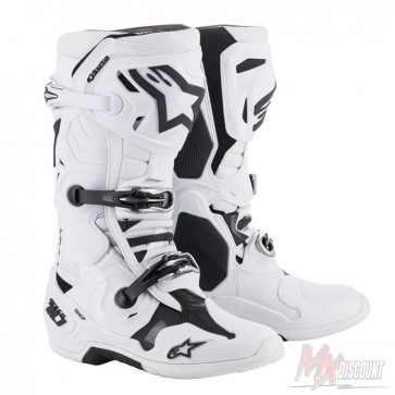 Alpinestars Tech 10 Wit crosslaarzen