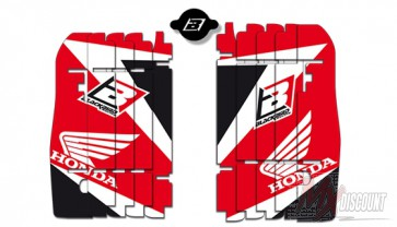 Blackbird Radiateur Kappen Stickerset Honda crf250 10-13