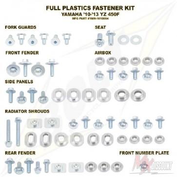 Bolt Full Plastic Bevestigings Kit yzf450 10-13