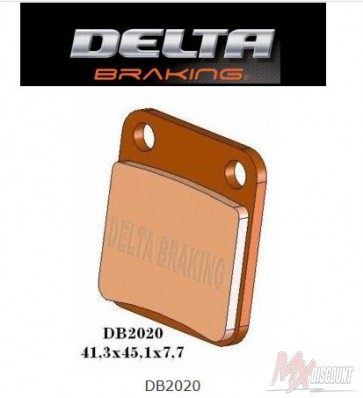 Delta Remblokken Achter Sintered kx 65 00-20 rm 65 03-05