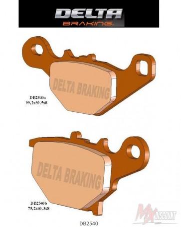 Delta Remblokken Sintered Achter rm85 05-13