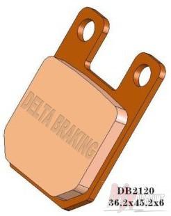 Delta Remblokken Voor Sintered ktm sx 65 98-01