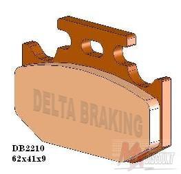 Delta Remblokken Achter Sintered kx500 89-95 rm 87-95 yz 89-97