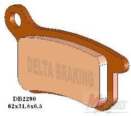 Delta Remblokken Sintered Voor + achter ktm sx 65 02-20 sx 85 03-11