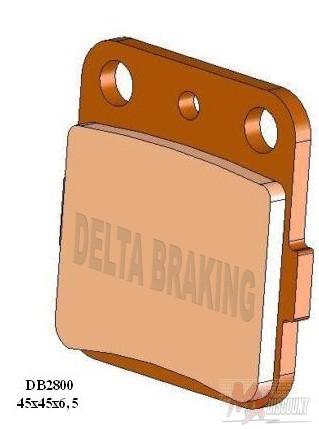 Delta Remblokken Sintered yz cr kx 80 85 93-20 yz 65 19-20
