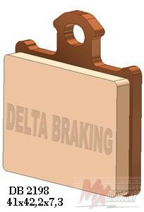 Delta Remblokken Achter Sintered ktm sx 85 11-20 tc 85 14-20