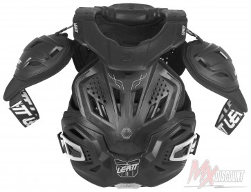 Leatt 3.0 Fusion Bodyprotector En Neckbrace Zwart