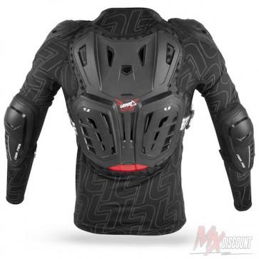 Leatt 4.5 Junior Bodyprotector In Net Zwart