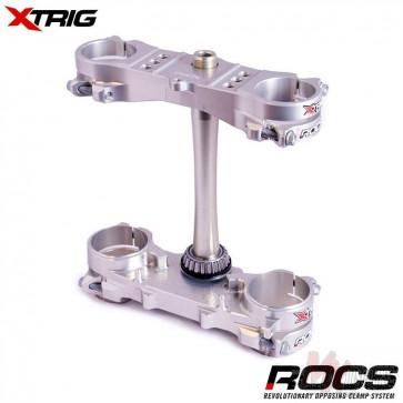 Xtrig Rocs Tech Silver Kroonplaten crf250 14-18 450 13-16