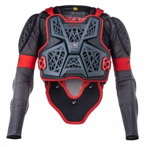 Acerbis Galaxy Bodyprotector Zwart/grijs