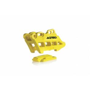 Acerbis kettinggeleider blok geel suzuki rm 125 250 07-08 rmz 05-17
