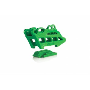 Acerbis kettinggeleider blok kawasaki kxf 09-18 groen