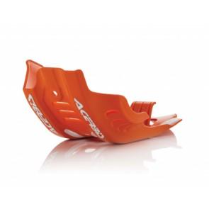 Acerbis skidplate oranje ktm husq sxf fc 450 16-18