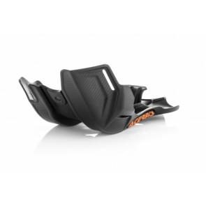 Acerbis skidplate zwart ktm husq sx exc tc te 125 16-19