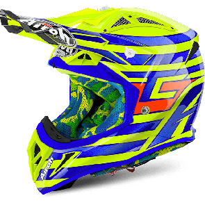 Airoh crosshelm aviator 2.2 cairoli qatar yellow