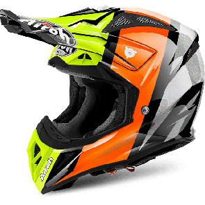 Airoh crosshelm aviator 2.2 revolve orange