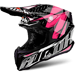 Airoh crosshelm twist iron pink