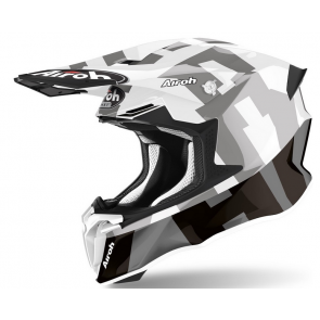 Airoh crosshelm twist 2.0 frame grey gloss