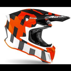 Airoh crosshelm twist 2.0 frame orange matt