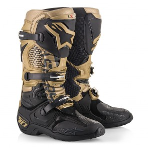Alpinestars Tech 10 aviator limited edition black/gold