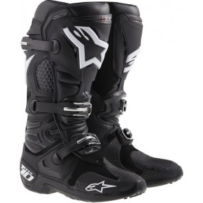 Alpinestars Tech 10 crosslaarzen zwart