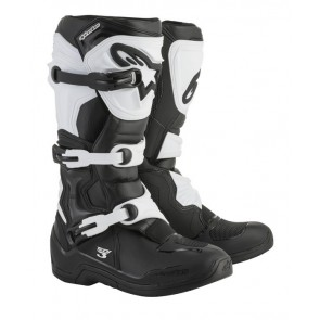 Alpinestars tech 3 crosslaarzen zwart/wit