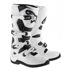 Alpinestars Tech 5 crosslaarzen wit