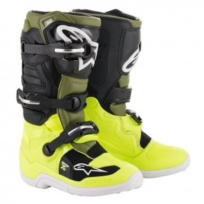 Alpinestars Tech 7s military groen fluor geel