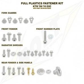 Bolt Full Plastic Bevestigings Kit ktm exc 08-10