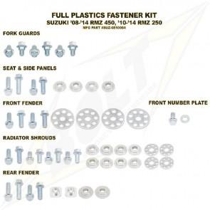 Bolt Full Plastic Bevestigings Kit rmz 250 10-17 450 08-17