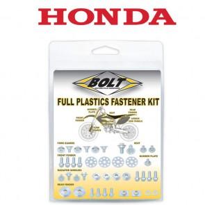 Bolt Full Plastic Bevestigings Kit honda crf 250 19- 450 18-19