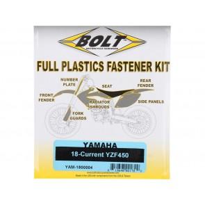 Bolt Full Plastic Bevestigings Kit yamaha yzf 250 19 450 18-19