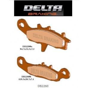 Delta Remblokken Voor Sintered kx 80 85 97- rm 85 05-