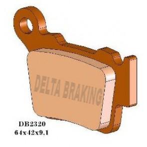 Delta Remblokken Achter Sintered Husaberg 09- Ktm 03-18 Sherco 12-18