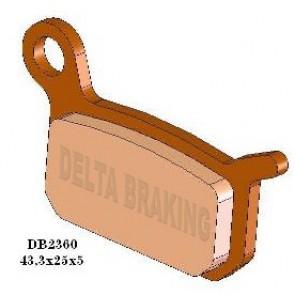 Delta Remblokken Sintered Voor/Achter ktm sx 50 02-18 Achter sx65 04-08