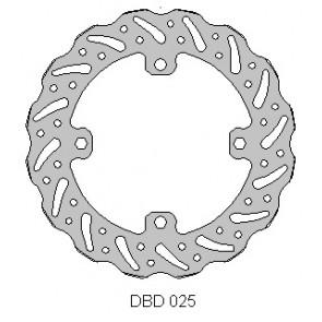 Delta Remschijf Achter 240mm rmz250 07-18 rmz450 05-18