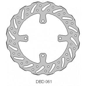 Delta Remschijf Voor 270mm kxf 15-16