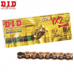 DID 520 VX2 X-Ring Gold Ketting 118 Schakels