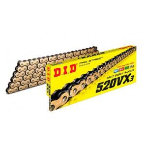 DID 520 VX3 X-Ring Gold Ketting 118 Schakels