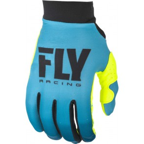 Fly racing lite dames cross handschoenen blauw