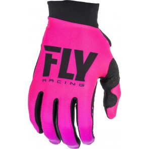 Fly racing lite dames cross handschoenen roze