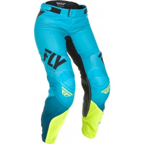 Fly racing lite dames crossbroek blauw