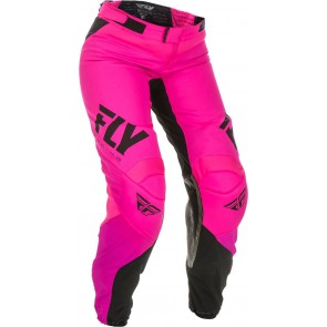 Fly racing lite dames crossbroek neon roze