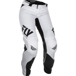 Fly racing lite dames crossbroek zwart-wit