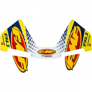 FMF 4-takt uitlaat sticker factory 4.1 titanium yellow