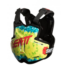 Leatt 2.5 Rox Bodyprotector lime/teal