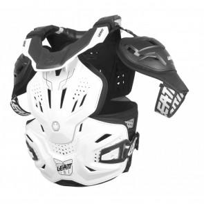 Leatt 3.0 Fusion Bodyprotector En Neckbrace Wit