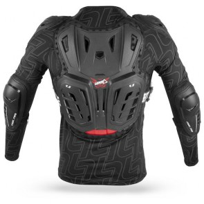 Leatt 4.5 Junior Bodyprotector In Net Zwart