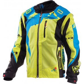 Leatt GPX 4.5 X-flow Enduro Jas Lime